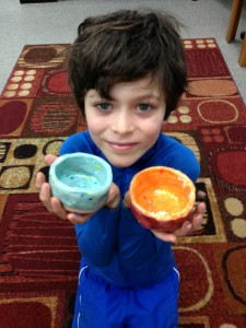 Elias Allen-soup bowl fundraiser