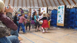 harvest Festival dancing